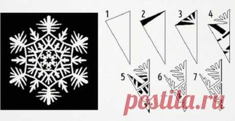 11 способов вырезать снежинки из бумаги / Домоседы