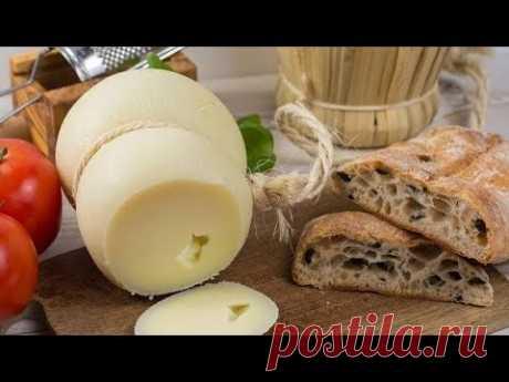 Качокавалло - вкусный и нежный  итальянский сыр в домашних условиях