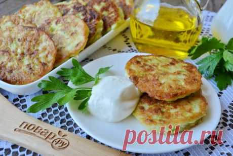 Быстрые оладьи из кабачков - пошаговый рецепт с фото на Повар.ру