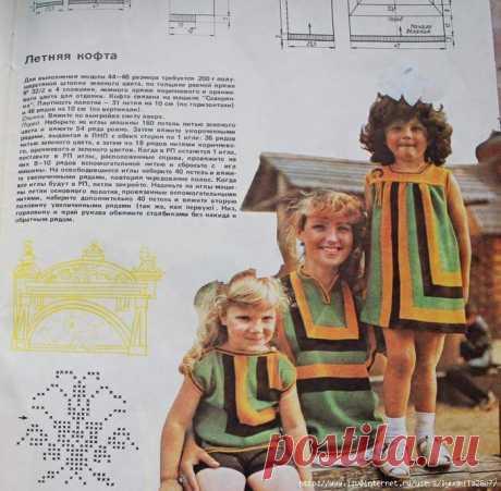 Жилет-квадрат спицами, МК вязания пуловера-квадрата и его вариации