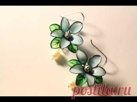 Nail Polish Earrings! ^^