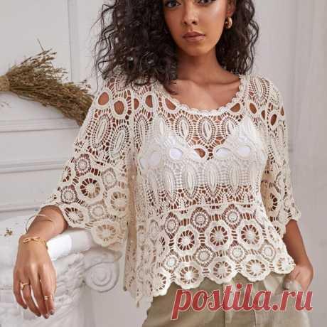 Долгожданная подборка ажурных моделей из известных интернет магазинов для вязания. Схемы - есть!!!   Asha. Вязание и дизайн.🌶   Яндекс Дзен