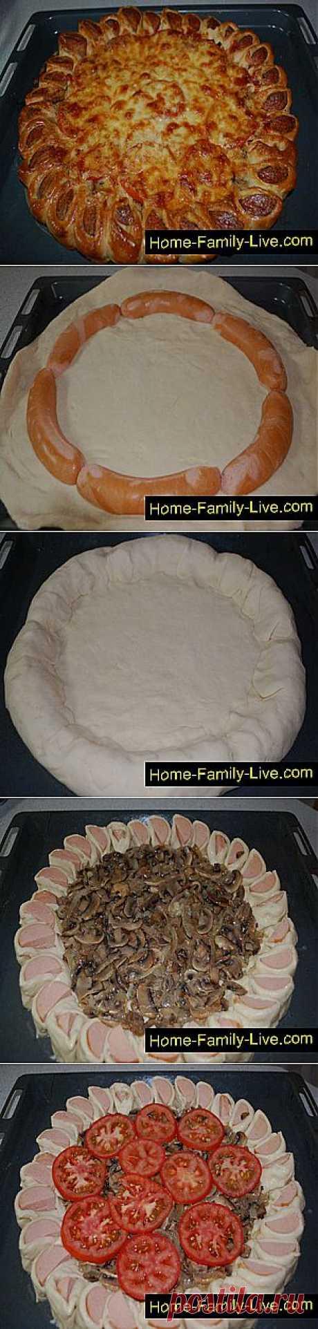Кулинарные рецепты Пирог с грибами » Кулинарные рецепты