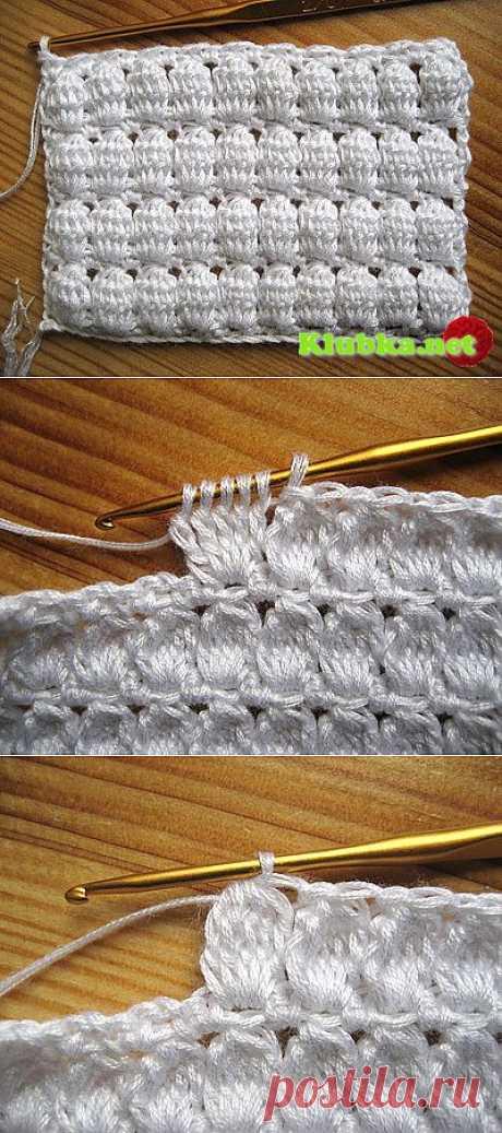 Узор для вязания крючком » Клубка.Нет - Все о вязании крючком