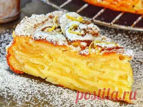 Как приготовить самый вкусный яблочный пирог