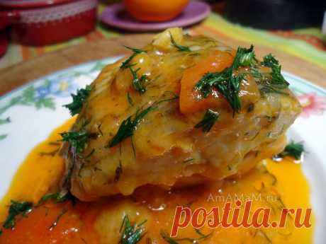 Рыба в томате - сочная рыбка в необычном исполнении