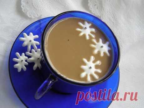 """Как приготовить """"снежинки"""" к кофе   Четыре вкуса"""