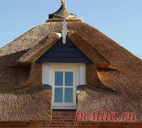 Крыша из камыша. Как сделать крышу из камыша? Узлы