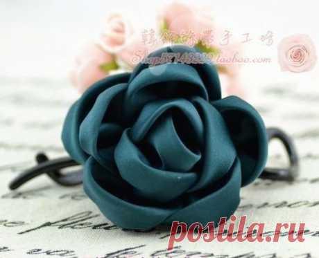 Цветы из ткани: мастер-класс