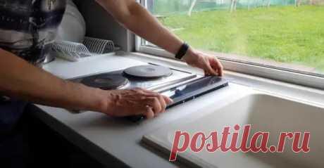 Как сделать вытяжку, которая встраивается в столешницу - Самоделкино - медиаплатформа МирТесен