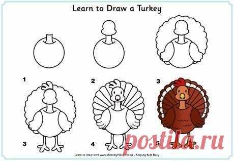Уроки рисования — Поделки с детьми
