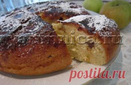 шарлотка с яблоками в мультиварке рецепт - Пошаговые рецепты с фото