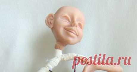 Проволочной каркас для куклы из полимерной глины. Этап работы.  Решила показать еще один этап создания моей первой работы из полимерной глины.         А теперь раскрою секрет!)   Многие, наверное мучаютс...