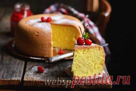 Как приготовить пышный бисквит для торта правильно