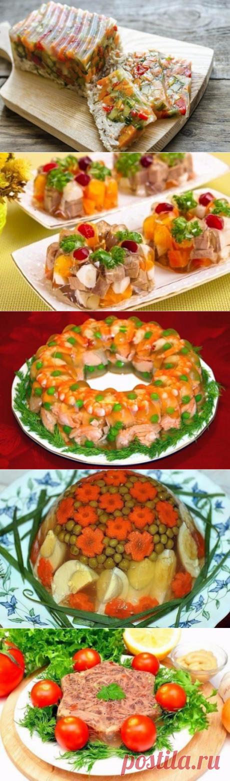 De aspic y la galantina para Nuevo año: ¡ТОП-8 de las recetas sabrosas - Todo para Ud!