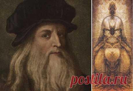 Зеркальный код Леонардо да Винчи - ключ к разгадке научных трактатов и живописных полотен гения | World of Art