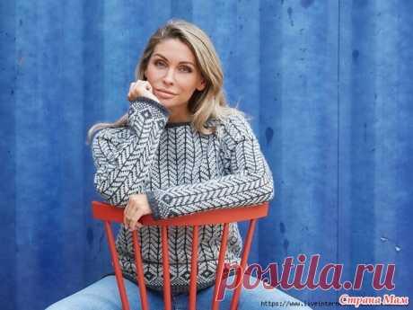 Alvi - классический северный свитер от Ханне Пьедстед - Вязание - Страна Мам