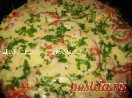 Пицца Минутка на сковороде | Дамская Сумочка