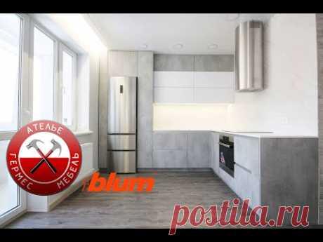 Кухня FENIX + KLEAF. № 113.