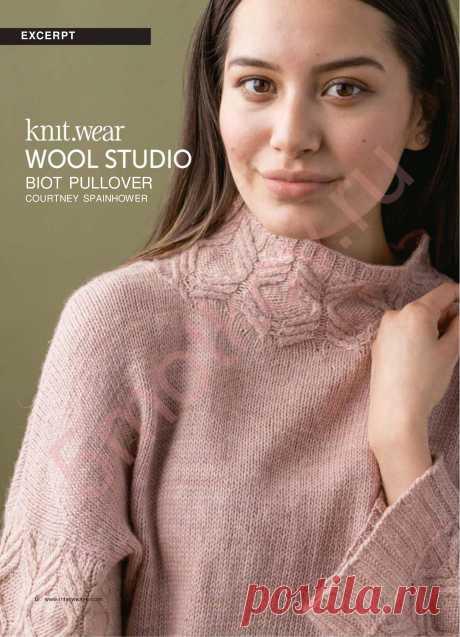 Джемпер Biot Wool studio - блог экспертов интернет-магазина пряжи 5motkov.ru