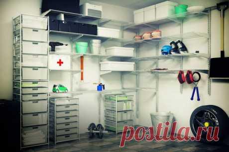 У вас есть гараж?  С нашей гардеробной системой в нем  всегда будет порядок! aristo.kz