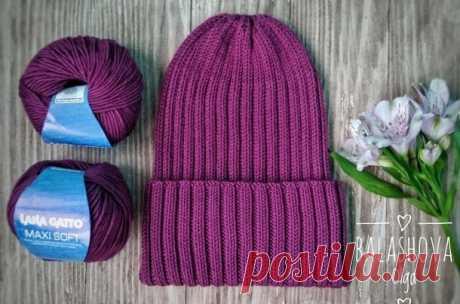 Как связать тренд сезона: шапка тыковка спицами. | OllyClub