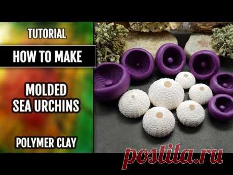 Quick Video on How to use the Sea Urchin's silicone molds for making good impressions! Polymer clay
