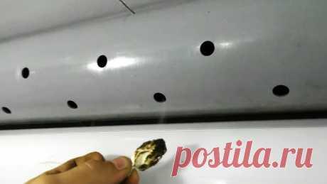 Как сделать копеечную активную вентиляцию в гараже или мастерской В закрытой мастерской или гараже можно угореть от дыма при работе сваркой или болгаркой. Для его отвода из помещения нужна мощная вытяжная вентиляция. Ее можно собрать из канализационных труб и канального вентилятора.Материалы:канальный вентилятор 100 мм;канализационная труба 110 мм;крепежные
