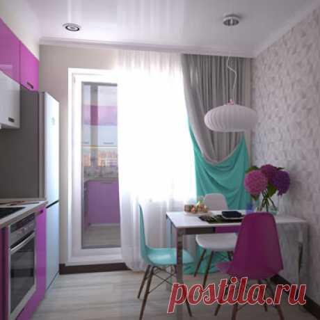 Кухни натяжной потолок - Дизайн интерьера кухни
