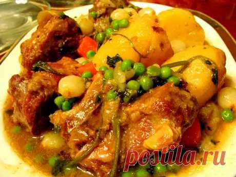 Мясо с картофелем по-гагаузски. Простое блюдо к обеду и ужину - Скатерть-Самобранка - медиаплатформа МирТесен