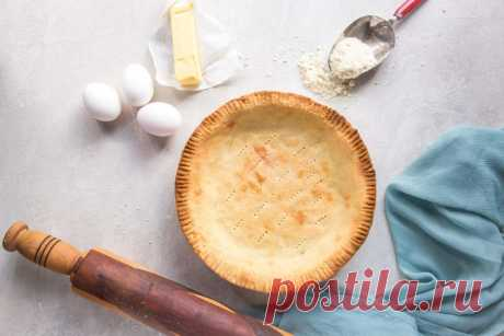 Рецепт слойного солёного кето тесто для пирога