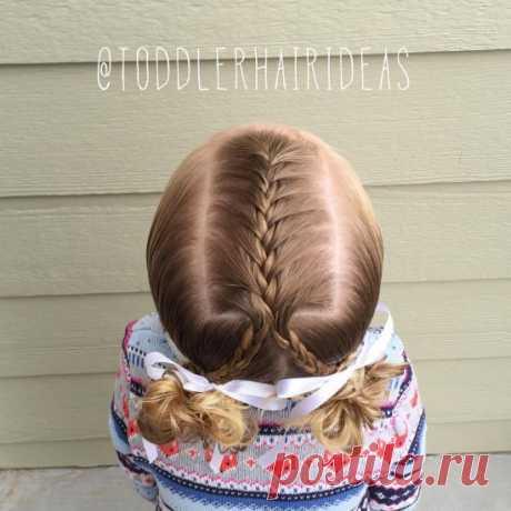 Детские причёски для самых маленьких или на короткие волосы