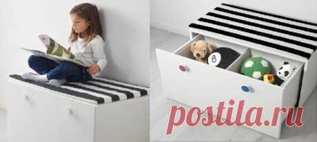 ИКЕА, где хранить игрушки. Идеи воплощенные в детской | Сан Саныч | Яндекс Дзен