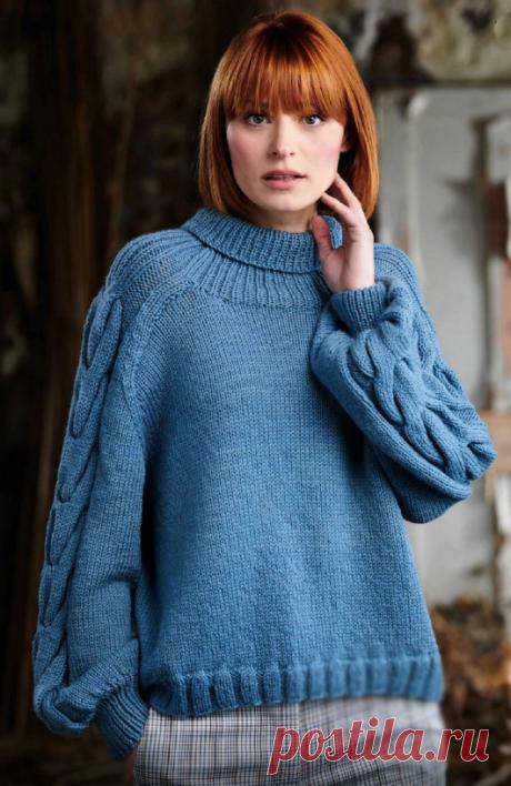 Вязаный свитер Zoya | ДОМОСЕДКА