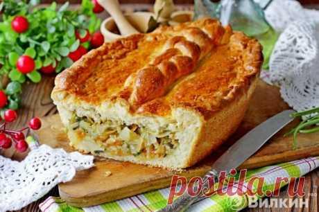 Минутный пирог из капусты, который тает во рту | Огородные шпаргалки | Яндекс Дзен