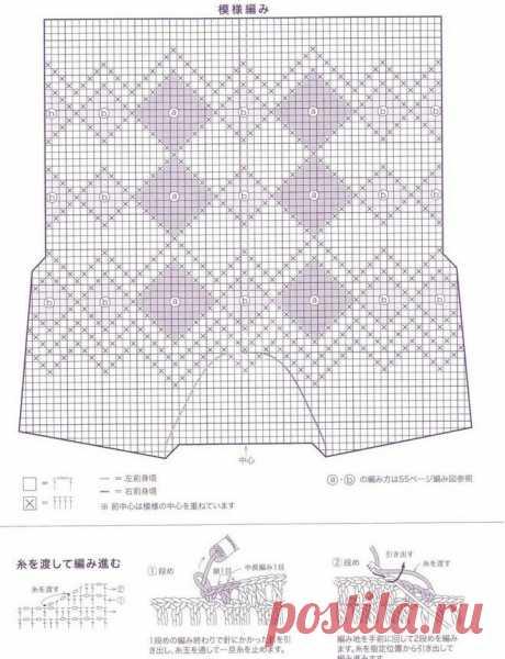 Чудесные модели крючком со схемами от японских дизайнеров - чтобы выглядеть по-королевски! | Вязалки Веселого Хомяка | Яндекс Дзен