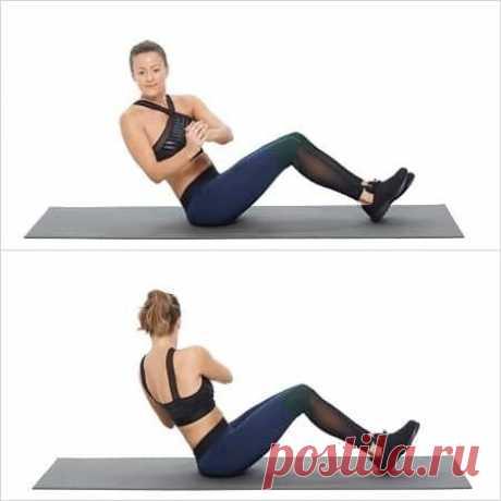 Узнайте 6 супер упражнений против жира на животе | Диеты со всего света