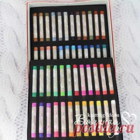 Сухая пастель Сонет 48 цветов. Художественные материалы. Вязаная жизнь. игрушки #СухаяпастельСонет48цветов #СухаяпастельСонет #наборцветнойпастели #краски #игрушки #вязанаяжизнь #Художественныематериалы #художественнаяпастель