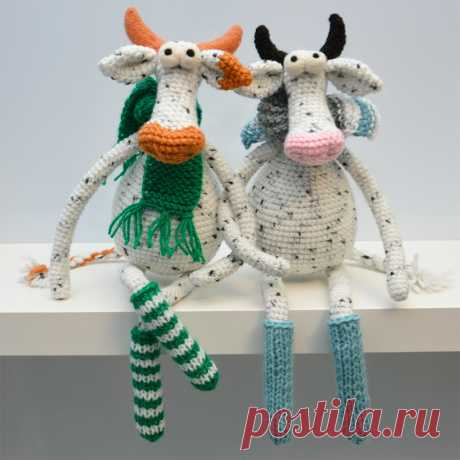 Шикарные коровушки: Чиколетта и Козетта |