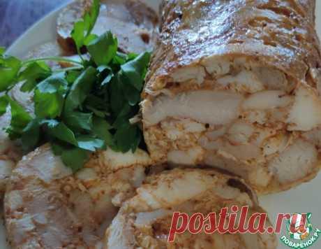 Куриный рулет – кулинарный рецепт