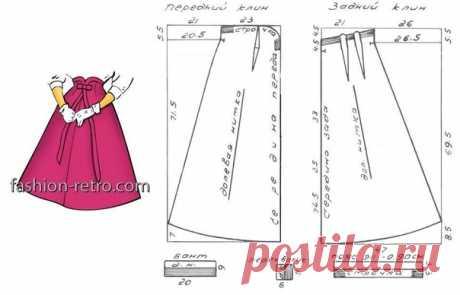 Женский стиль 50-х  На фото 1: Элегантный комплект 50-х годов – платье и короткий жакет Женский нарядный комплект из плотной шелковой ткани. Цельнокроеное платье 6-клинка с маленьким прилегающим лифом и расклешенной юбкой, вырез горловины – «каре». Короткий жакет прямого силуэта с небольшим воротником. Рукава длиной ¾ с манжетами. Застежка на две пуговицы. В качестве отделки – вышивка на воротнике и манжетах. Размер 48, рост 3. Модель сопровождается схемой, по которой можн...