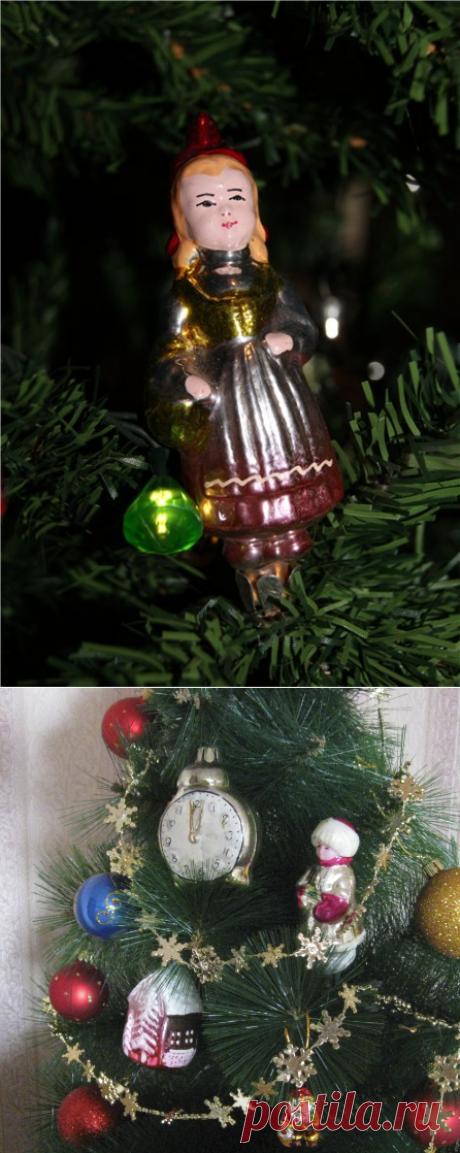 El foro sobre las muñecas en DollPlanet.ru • la Presentación del tema - Vintazhnye los juguetes del árbol de Noel