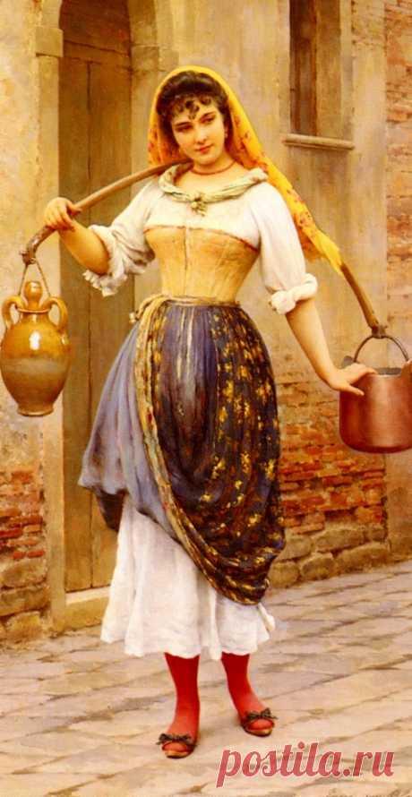 Венеция 19 века глазами Эжена де Блааса – Ярмарка Мастеров