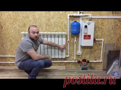 Проект гараж #9 (отопление гаража)