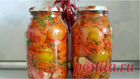 """Помидоры по """"Кавказски"""" на зиму Очень вкусные и ароматные помидоры на зиму!"""