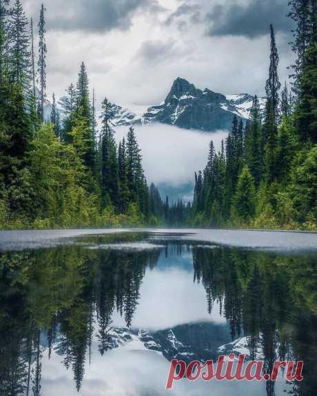 ༺🌸༻Озеро Альберта. Канада.