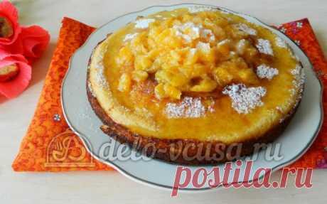 Манник с мандаринами пошаговый рецепт (13 фото)