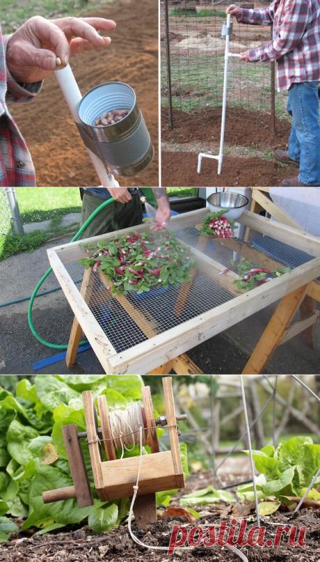 5 полезных самоделок для дачи и огорода: перенимаем опыт народных умельцев | Дачный труженик | Яндекс Дзен