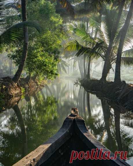 Манро Айленд, Аштамуди, Южная Индия
