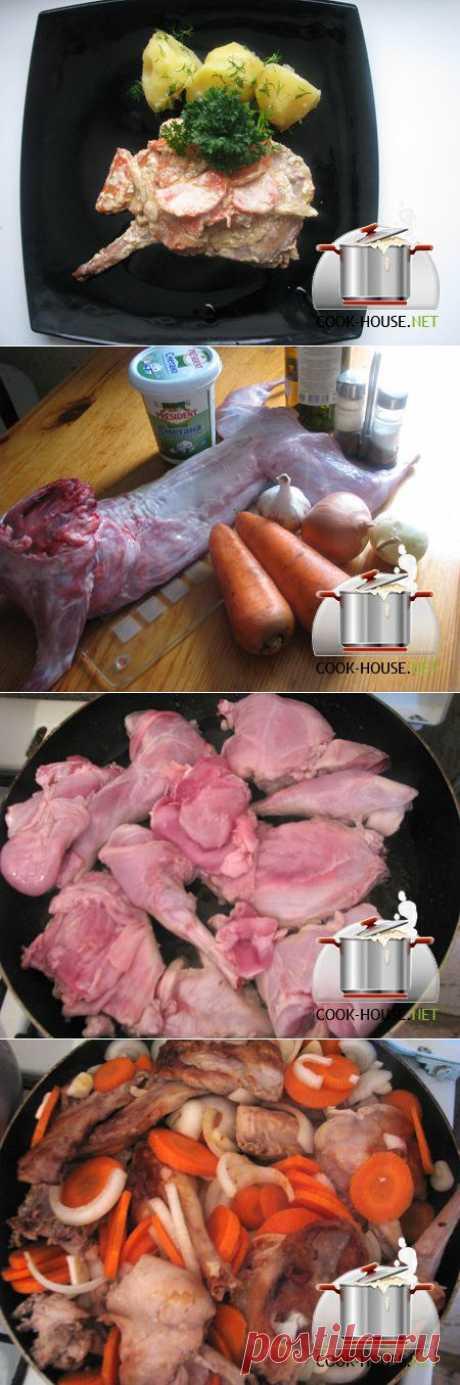 Кролик в сметанном соусе | Ваши любимые рецепты